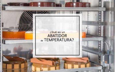 ¿Qué es un abatidor de temperatura?